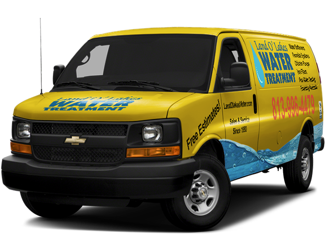 land o lakes water treatment work van